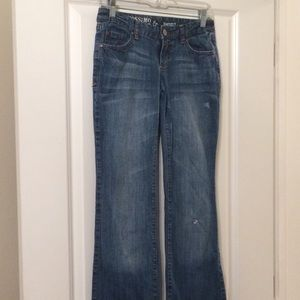 Mossimo Bootcut Blue Jeans - Size 3R